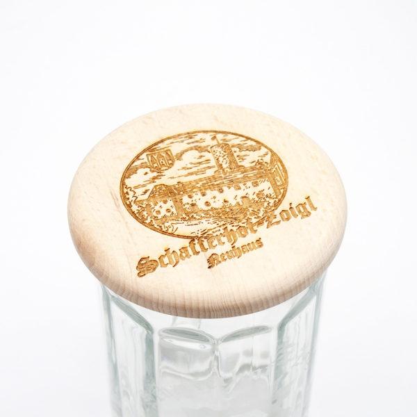 Deckel für Bierglas