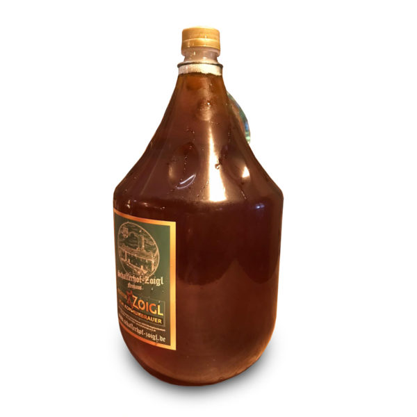 Zoigl Flasche 5 Liter Schafferhof Neuhaus Windischeschenbach